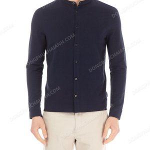 Mẫu đồng phục áo sơ mi nam công sở màu đen