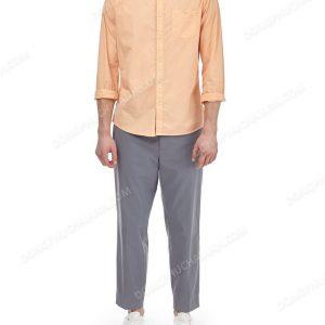 Mẫu đồng phục áo sơ mi nam công sở màu cam