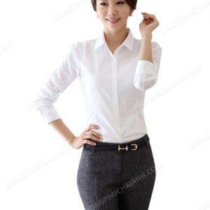 Đồng phục áo sơ mi nữ công sở 33