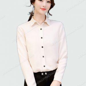 Đồng phục áo sơ mi nữ công sở 34