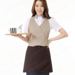 Đồng phục nhân viên áo phông - tạp dề 02Đồng phục nhân viên áo phông - tạp dề 02