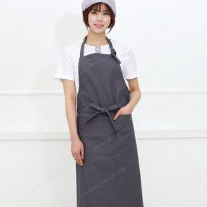 đồng phục nhân viên nữ áo phông tap dề
