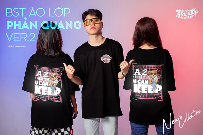 "BST ""Áo lớp phản quang in decal"""